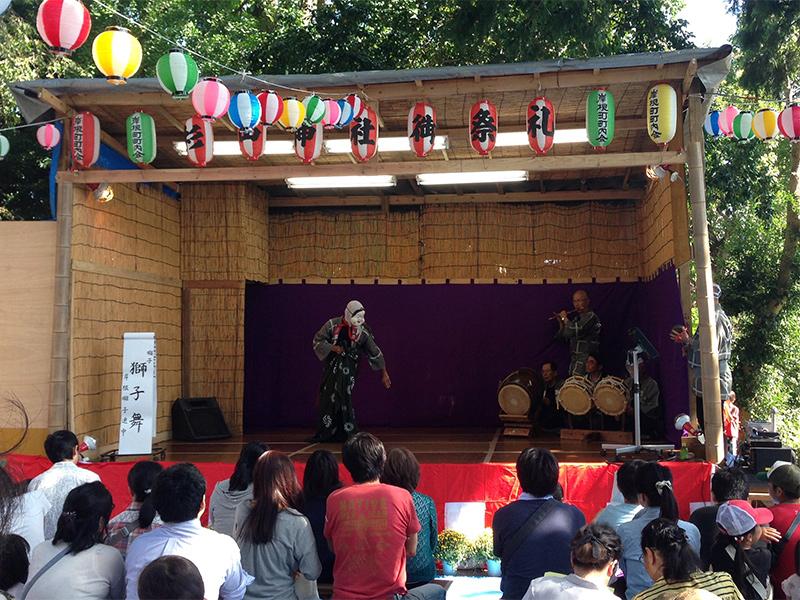 杉山神社御祭礼(岸根まつり)