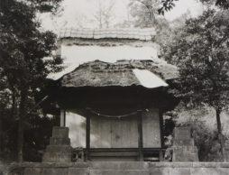 建て替え前の拝殿