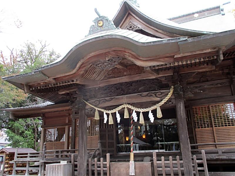 平成29年度・頒布式会場の師岡熊野神社