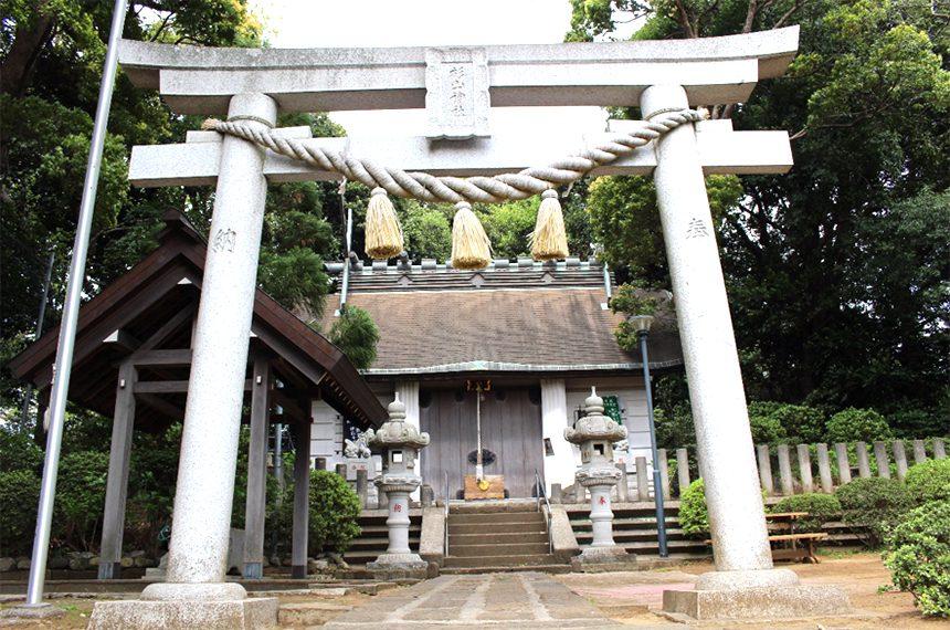 岸根杉山神社