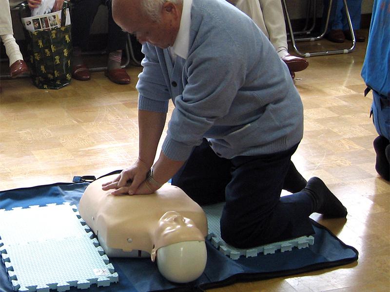 心肺蘇生法&AED使用体験