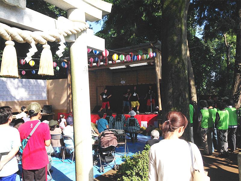 岸根杉山神社御祭礼