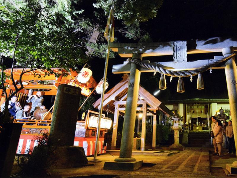 杉山神社 除夜祭