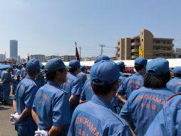 平成30年度港北消防団夏季訓練会