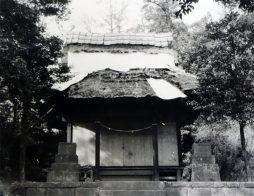 建替え前の拝殿・昭和50年ころ