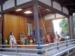 篠原八幡大神の元旦祭風景