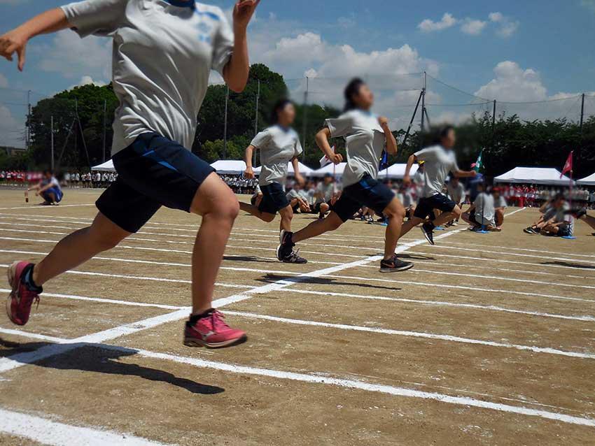 徒競走:女子