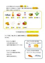 ロコモ予防と食事(3-2)