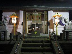 除夜祭(拝殿)